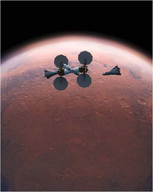 Orbiting Mars Base Camp (2)