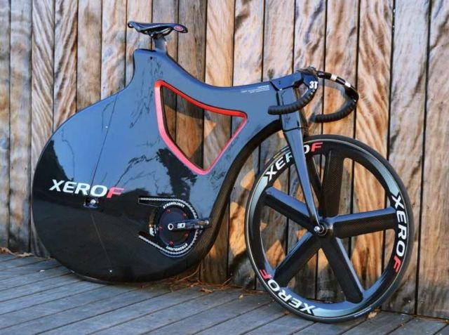 Pluma Track Bike Prototype