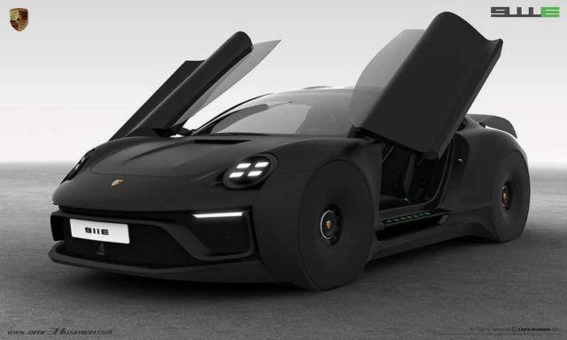 Porsche 911E concept