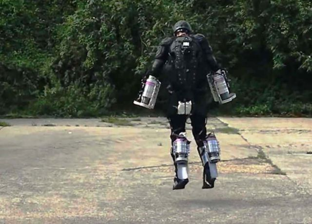 Real-life Iron Man with his own Flying Suit
