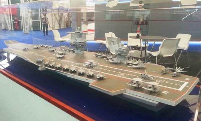 Russia to build world's largest Aircraft Carrier
