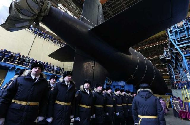 Russia's most powerful submarine ever