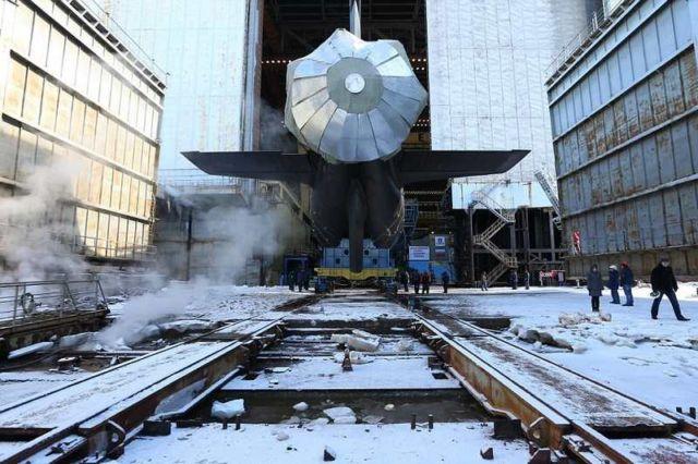 Project 885 Yassen class fourth-generation Kazan nuclear sub