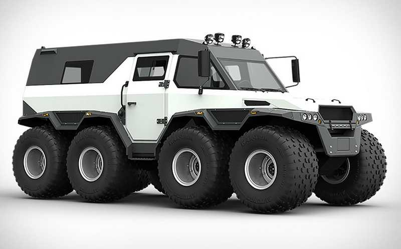 Shaman All Terrain Vehicle (10)