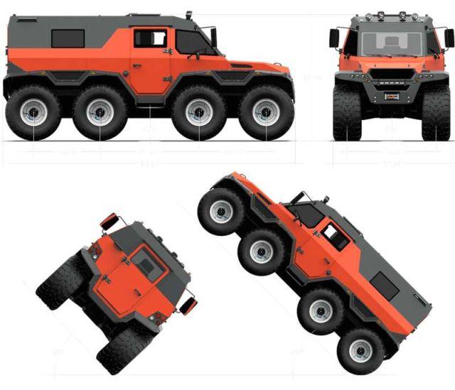 Shaman All Terrain Vehicle (1)