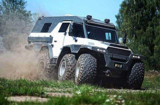 Shaman All Terrain Vehicle (9)