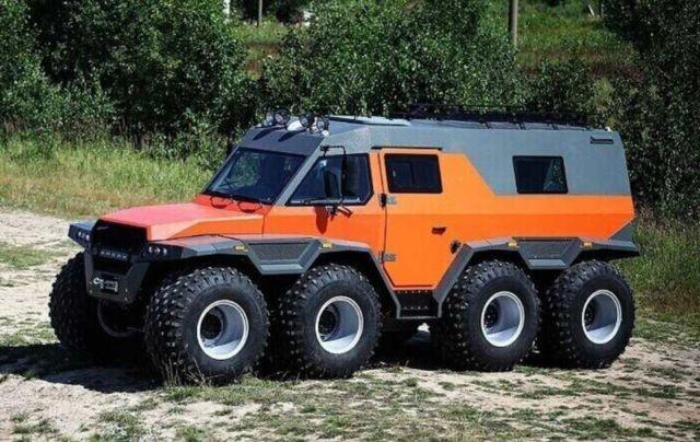 Shaman All Terrain Vehicle (7)