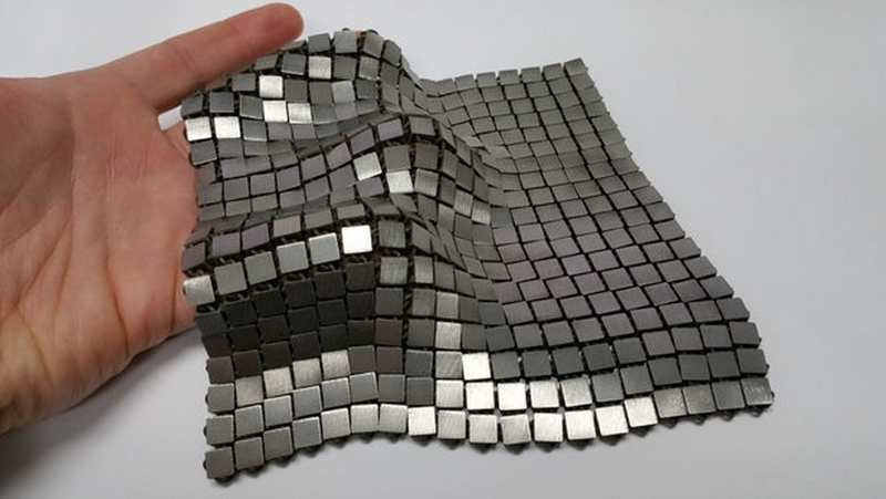 'Space Fabric' created using 3D Printing