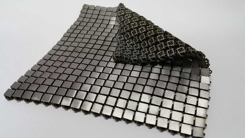 Space fabric created using 3d printing wordlesstech for When was 3d printing invented