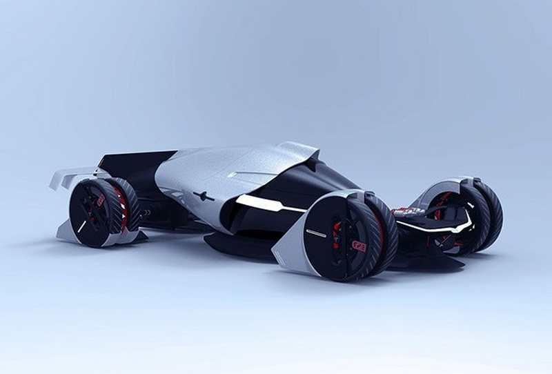 Tesla T1 Hypercar concept (5)