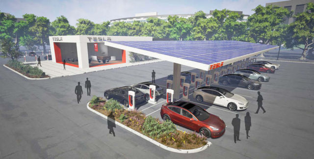 Tesla is doubling its Supercharger network this year