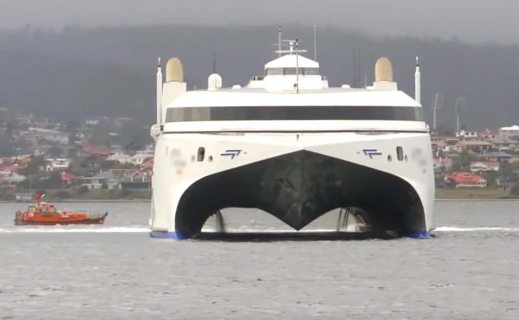 Audi Trimaran Yacht concept | wordlessTech