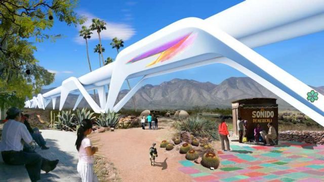 Turn the US Border Wall into a Hyperloop