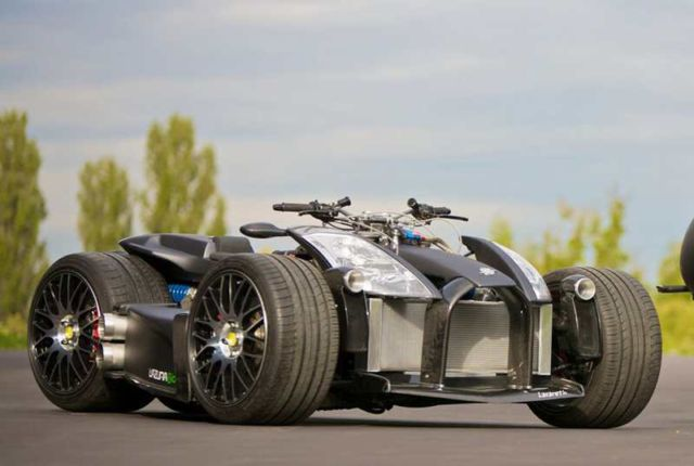 Wazuma V8F Ferrari quad-bike (5)