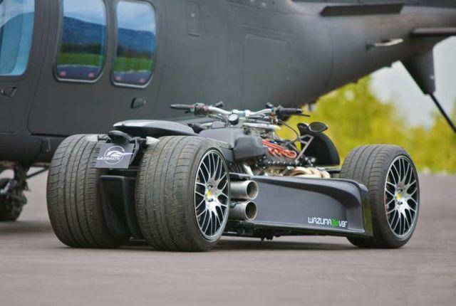 Wazuma V8F Ferrari quad-bike (3)