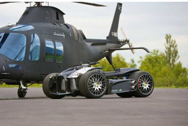 Wazuma V8F Ferrari quad-bike (2)