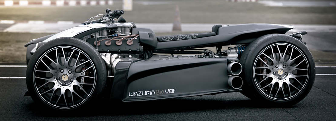 Wazuma V8F Ferrari quad-bike (1)