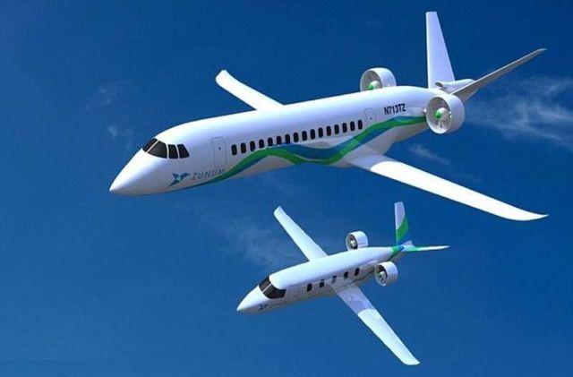 Zunum Aero Hybrid Electric Plane