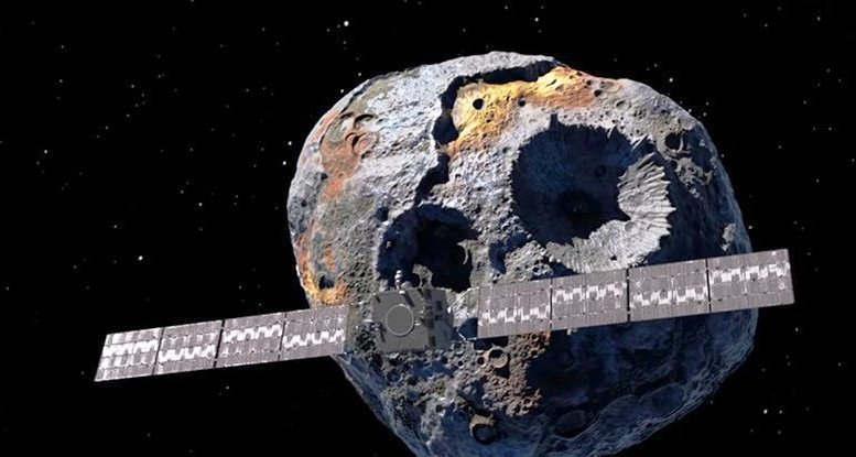 A metal-rich Asteroid worth quadrillions