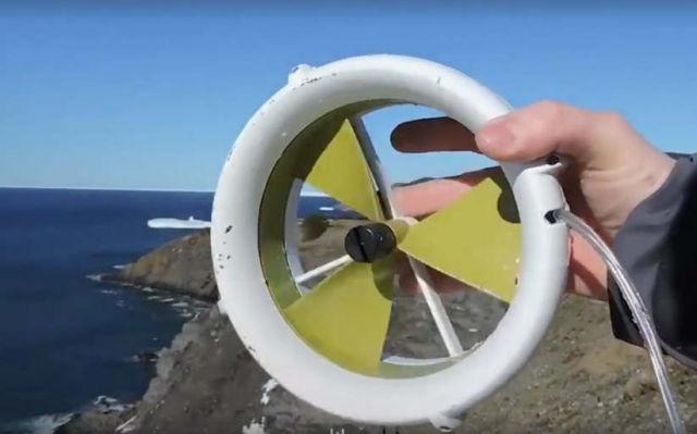 A portable Turbine that generates power