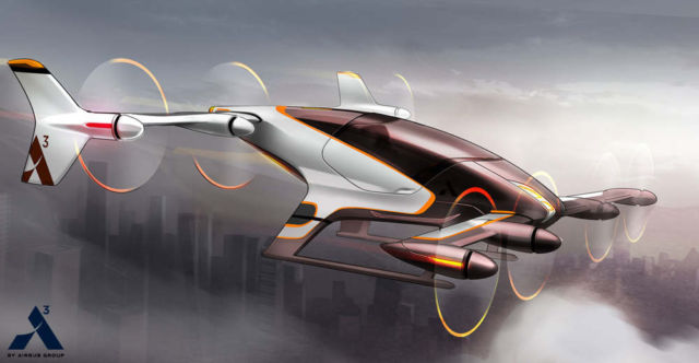 A ride in a Flying Car will cost the same as a regular taxi