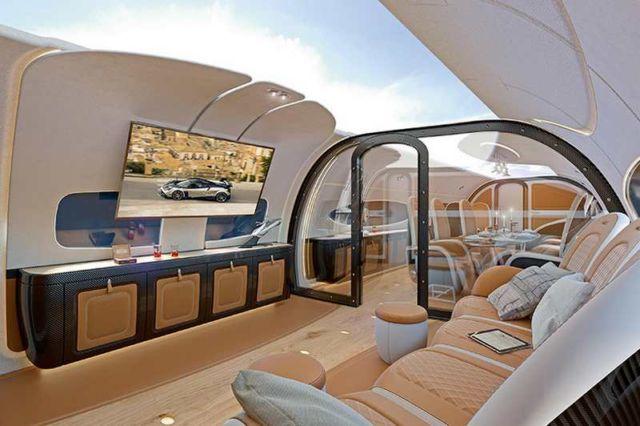 Airbus Infinito Cabin