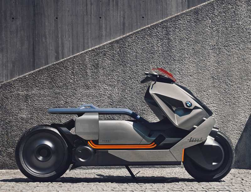 BMW Motorrad Concept Link zero-emissions bike | wordlessTech