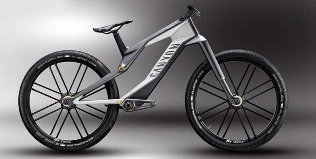 Canyon Orbiter e-bike concept