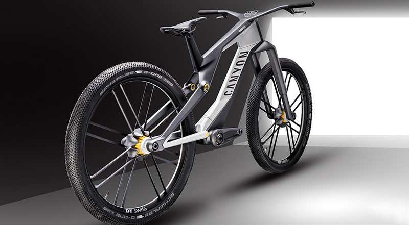 WordlessTech Canyon Orbiter E Bike Concept