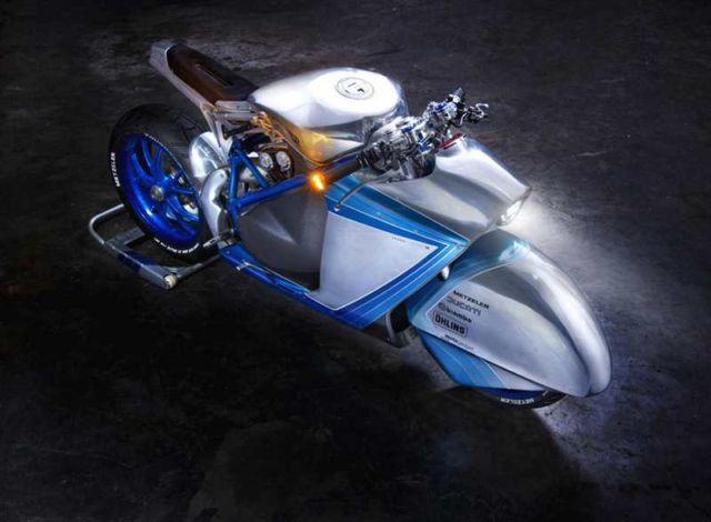 Ducati 848 Neo-Racer custom motorcycle