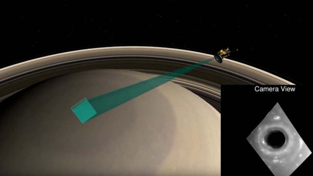 First incredible video of our closest look at Saturn yet