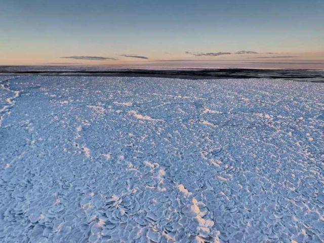 'Dragon-Skin Ice' in Antarctica