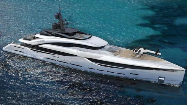 GT67 Superyacht concept