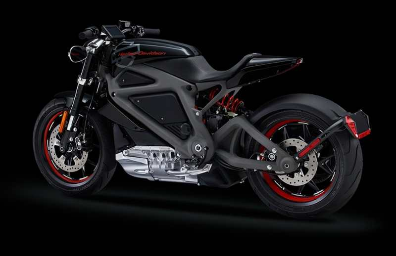 Harley-Davidson electric motorcycle