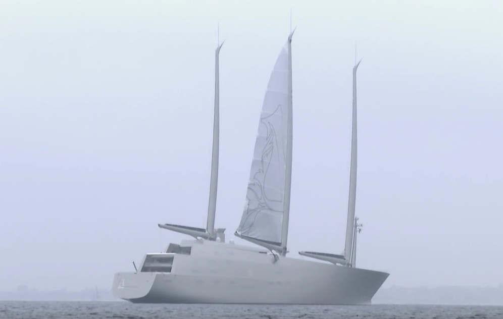 Sailing Yacht A's sails
