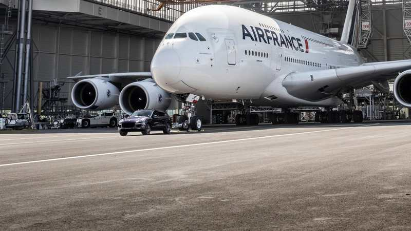 Air France and Porsche