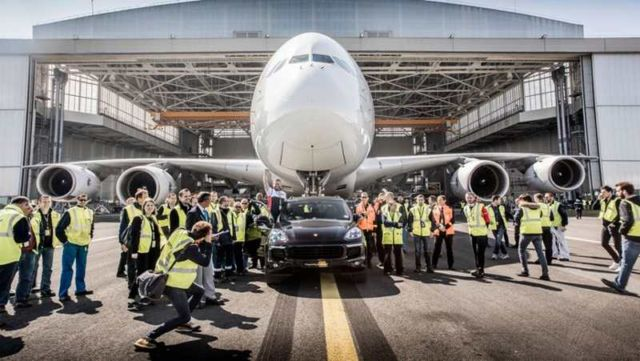 New Guinness World Record for Air France and Porsche