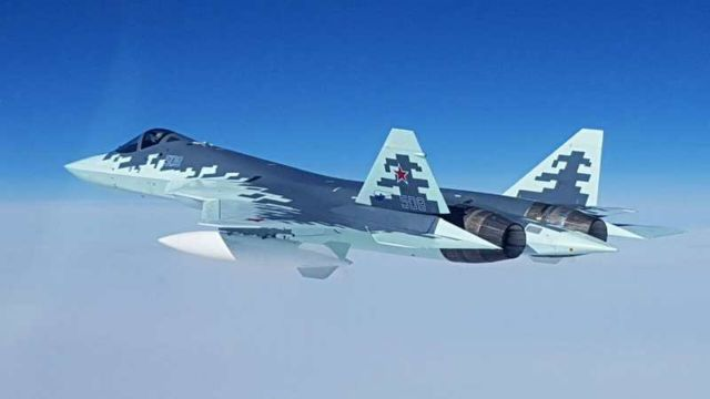 New Sukhoi Fifth Generation Fighter