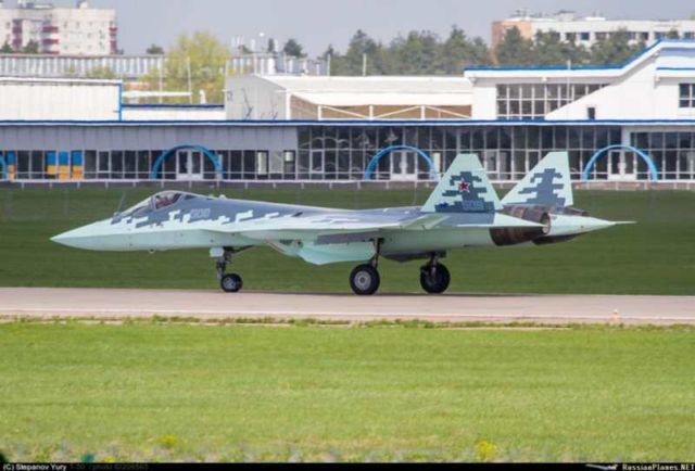 Sukhoi T-50-9 Russian fighter