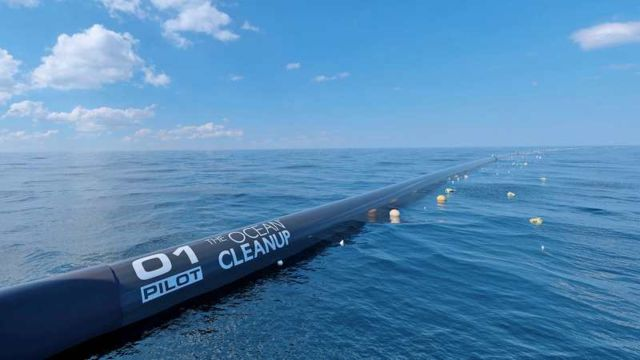 Plastic Trash collection too start from the Pacific Garbage Patch
