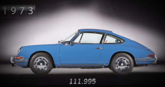 Porsche 911 from 1 to 1,000,000 units