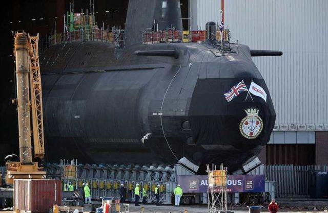 Royal Navy's £1billion Nuclear Submarine