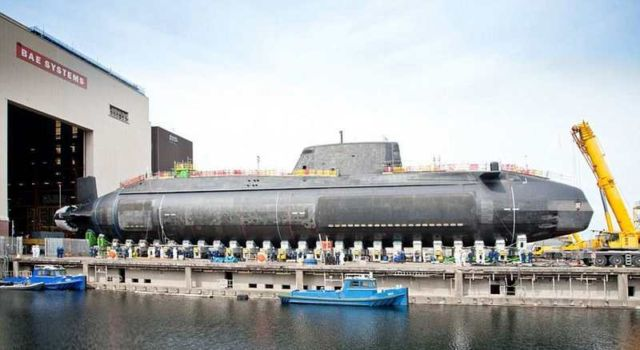 Royal Navy's £1billion Nuclear Submarine (2)