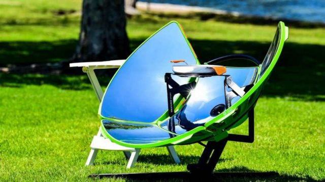 SolSource Sport portable solar-powered stove