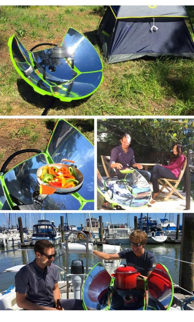 SolSource Sport portable solar-powered stove (1)