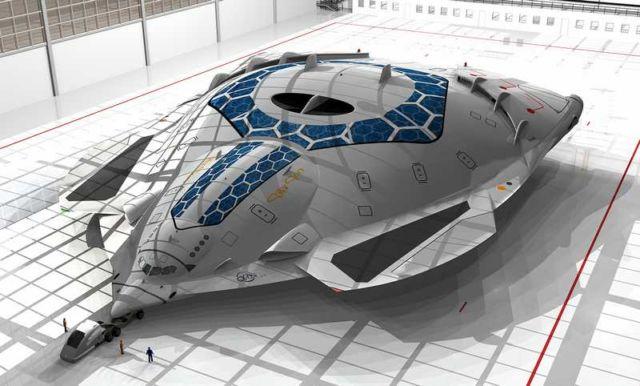 Solar Skin concept plane (12)