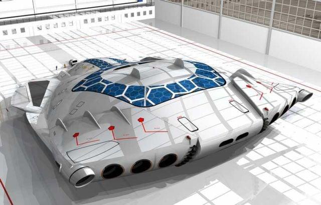 Solar Skin concept plane (11)