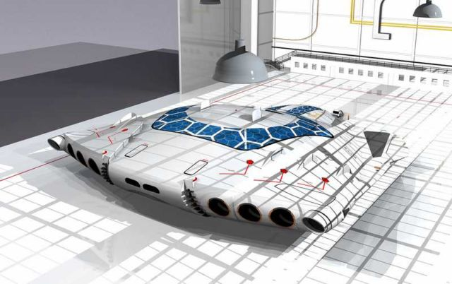 Solar Skin concept plane (10)