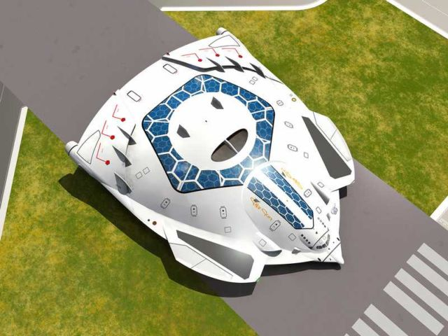 Solar Skin concept plane (6)