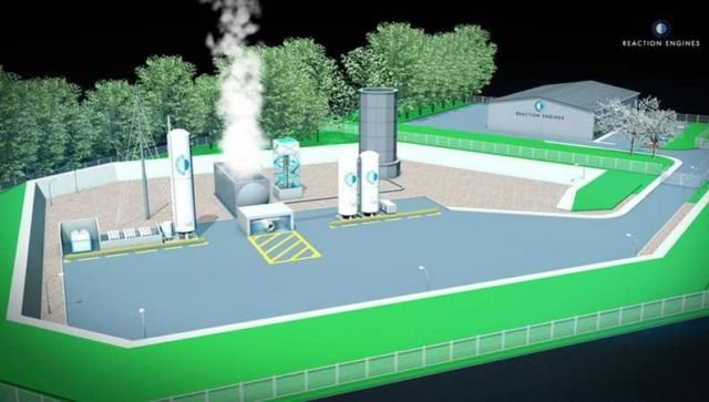 Test Facility for Reaction Rocket Engines
